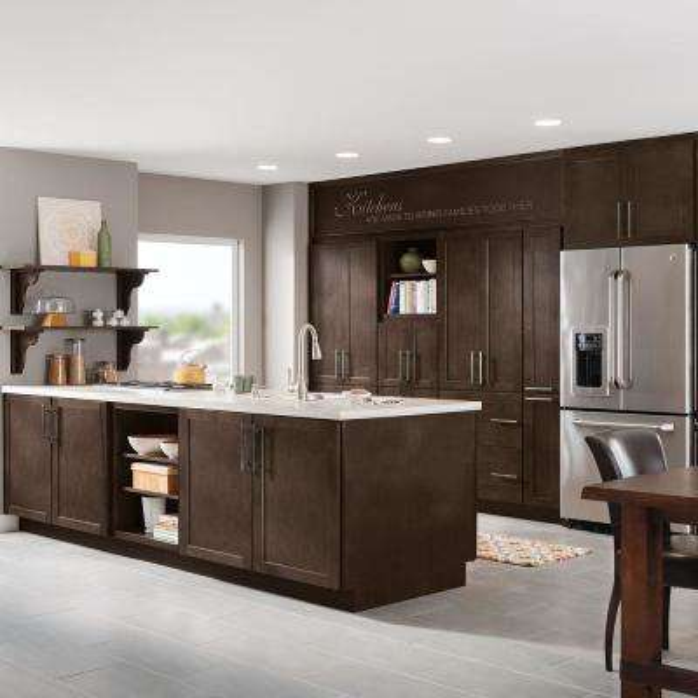 Studio 1904 Custom Kitchen Cabinets Shown in Farmhouse Style