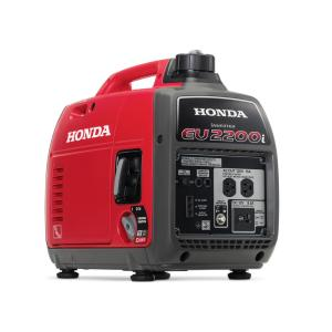 Honda 2,200-Watt Super Quiet Gasoline Powered Portable Inverter Generator with Eco-Throttle and Oil Alert by Honda