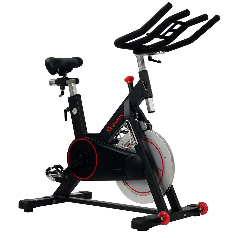 Health and Fitness Magnetic Belt Drive Indoor Cycling Bike with High