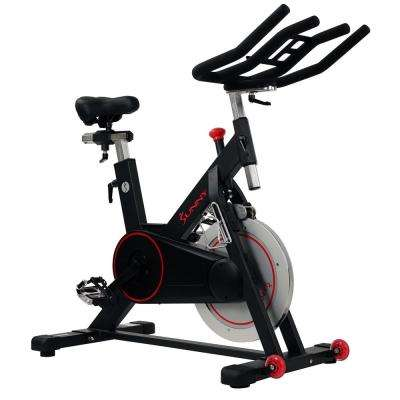 Health and Fitness Magnetic Belt Drive Indoor Cycling Bike with High Weight Capacity and Tablet Holder