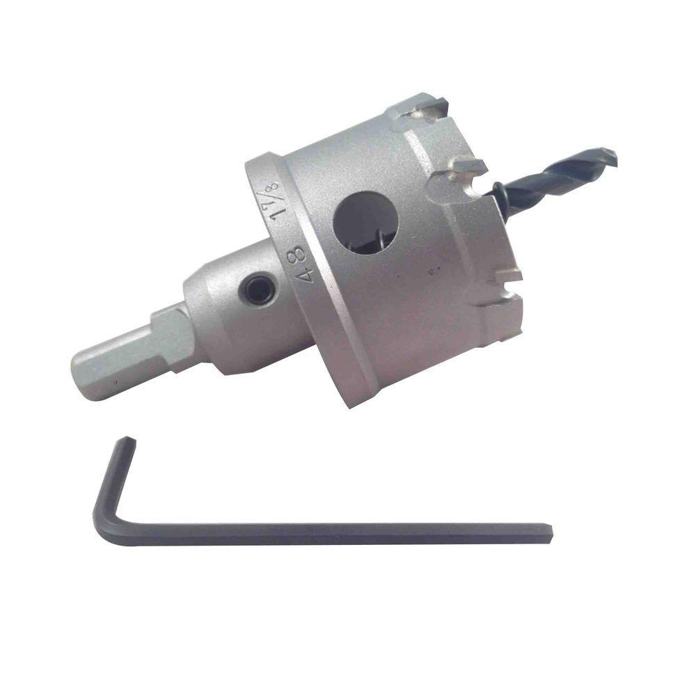 BLU-MOL 1-7/8 inch Xtreme Tri-Cut Tungsten Carbide Hole Cutter by BLU-MOL