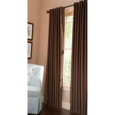Awesome Thermal Crepe Back Tab Curtain