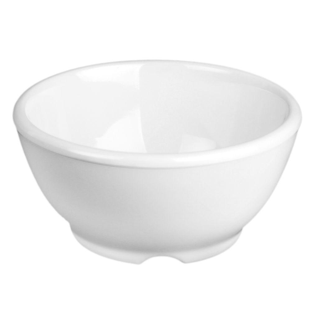 Coleur 10 oz., 4-5/8 in. Soup Bowl in White (12-Piece)
