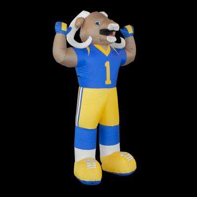 7 ft. Los Angeles Rams Inflatable Mascot
