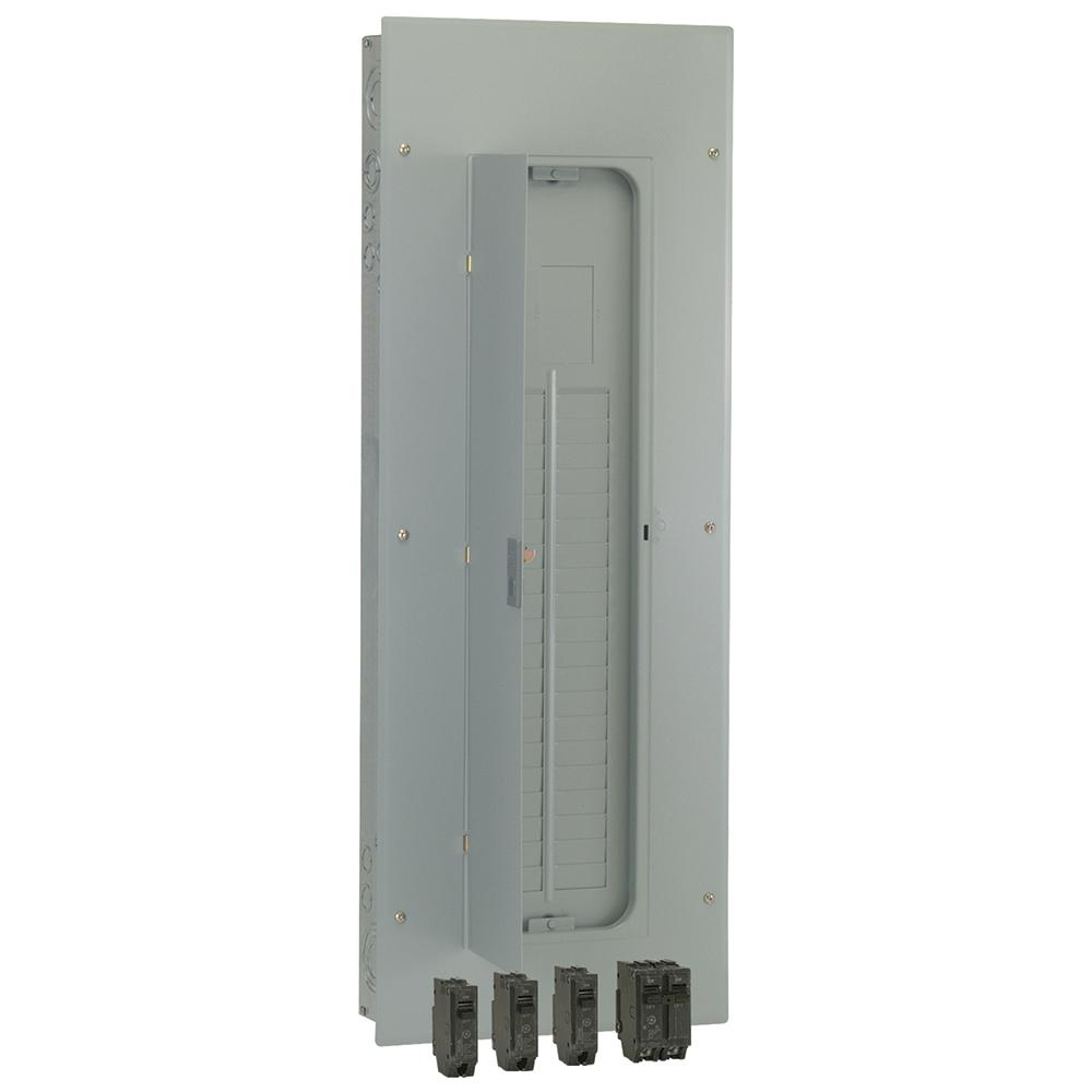 Ge 200 Amp 40 Space 80 Circuit Main Lug Indoor Load Center Wiring A Sub Panel Contractor Kit