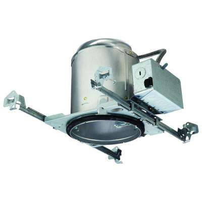 E26 5 in. Aluminum Recessed Lighting Housing for New Construction Ceiling, Insulation Contact, Air-Tite