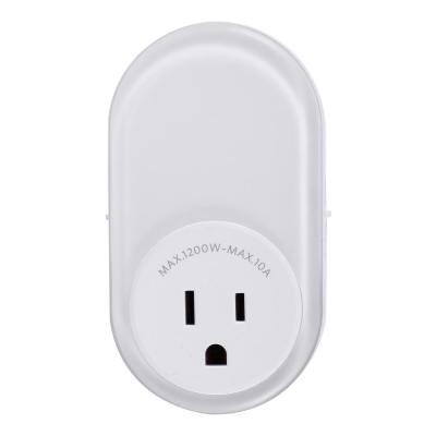 Automatic LED Night Light with Integrated Outlet