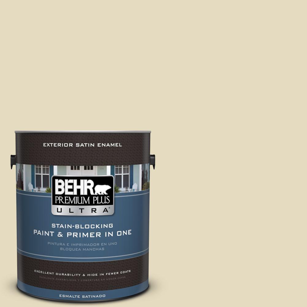 BEHR Premium Plus Ultra 1-gal. #M330-2 Flowery Satin Enamel Exterior Paint