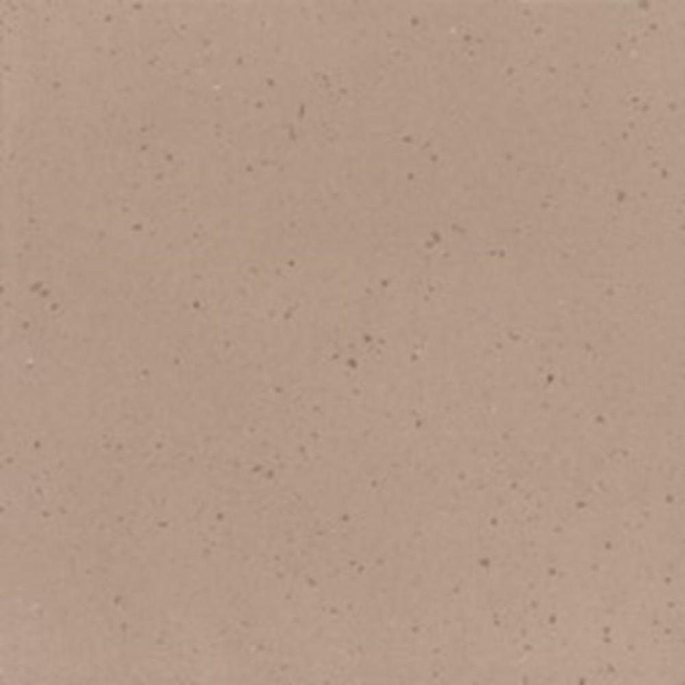 Corian 2 in. Solid Surface Countertop Sample in Concrete