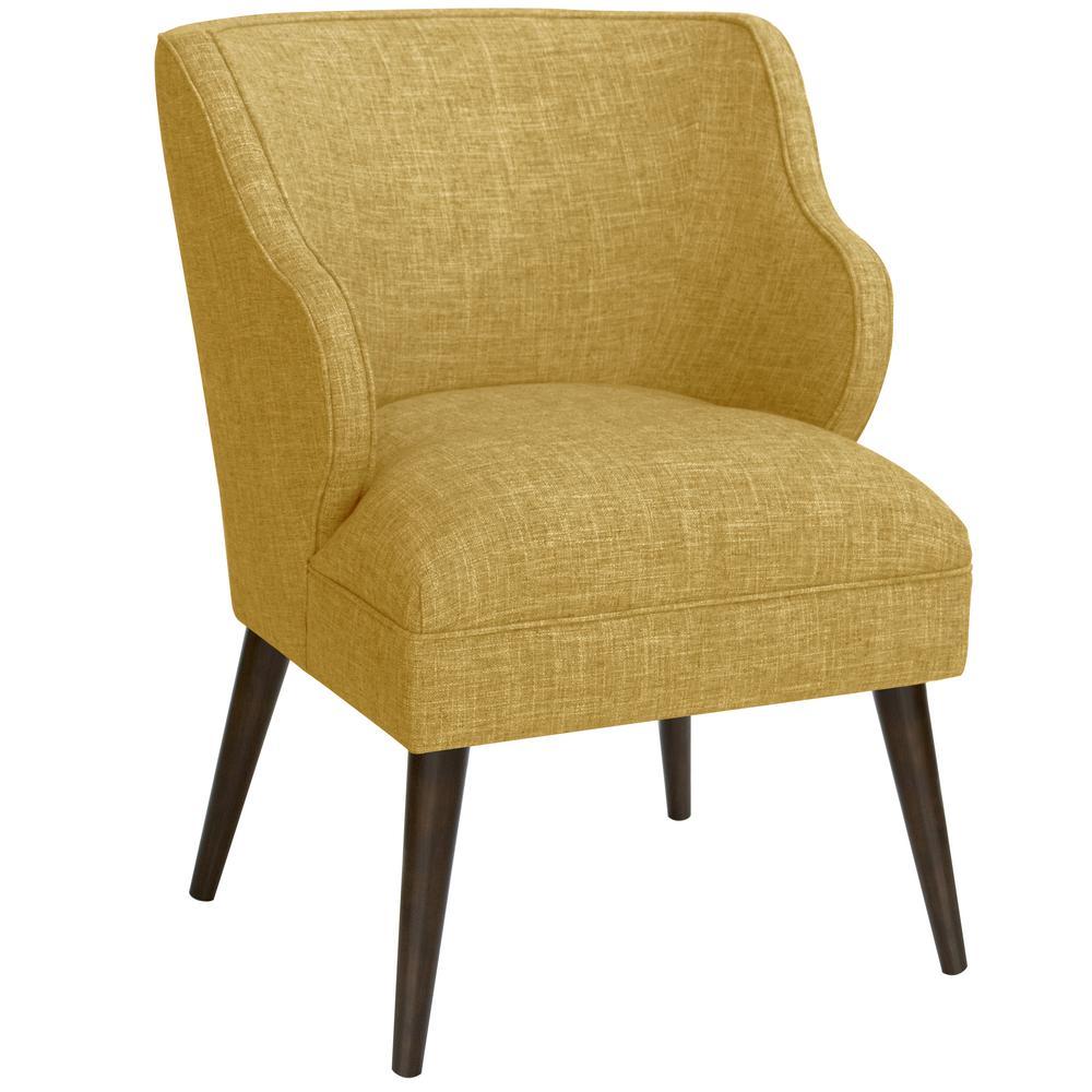 Merveilleux Zuma Golden Modern Chair