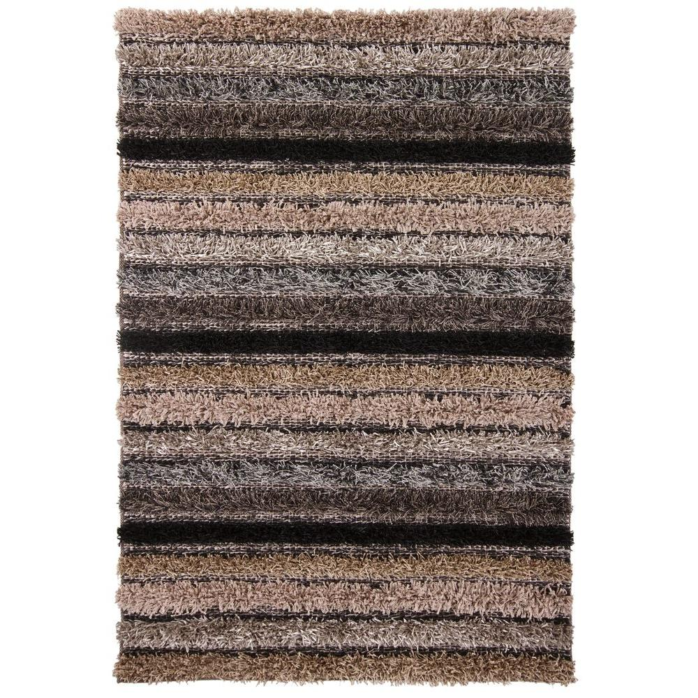 Lavasa Grey/Tan/Black 5 ft. x 7 ft. 6 in. Indoor Area