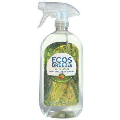 20 oz. Lemongrass ECOSBreeze Odor Eliminator Trigger Spray