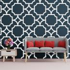 3/8 in. x 43 in. x 23-3/4 in. Large Anderson White Architectural Grade PVC Decorative Wall Panels