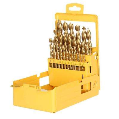 Titanium Pilot Point Drill Bit Set (29-Piece)