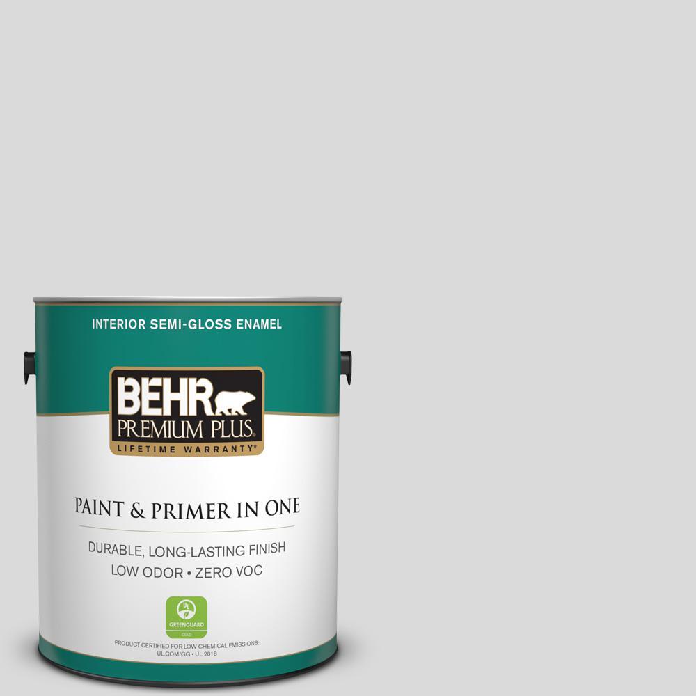 1 gal. #790E-1 Subtle Touch Semi-Gloss Enamel Zero VOC Interior Paint