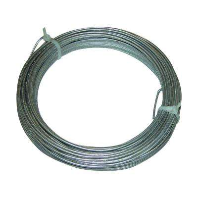 Electric fence wire electric fencing the home depot 50 ft coil of 125 gauge ground wire for lead out wire greentooth Image collections