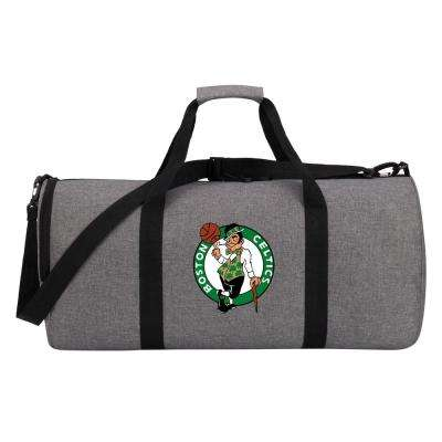 Celtics Wingman 10 in. Heathered Gray Duffle Bag