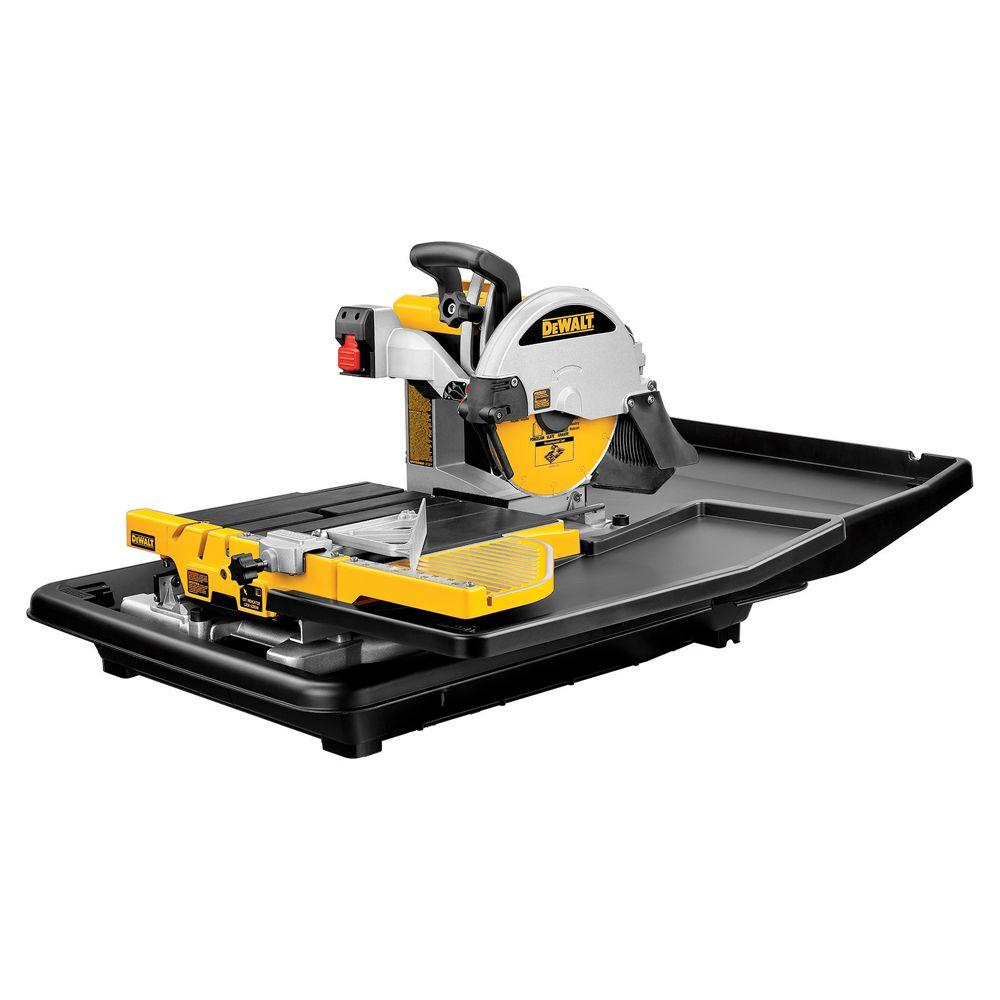 DEWALT 10 in. Wet Tile Saw
