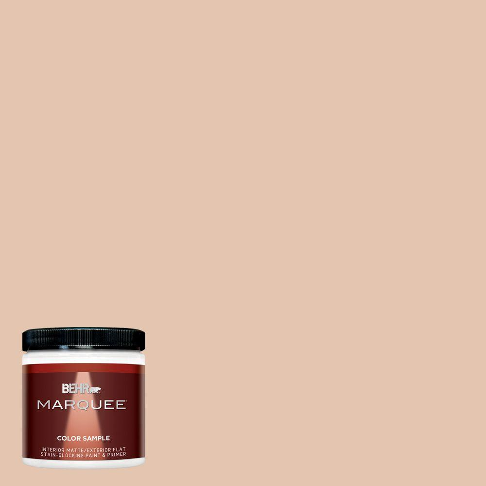 BEHR MARQUEE 8 oz. #MQ1-31 Cockleshell Interior/Exterior Paint Sample