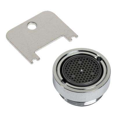 1.0 GPM Vandal Resistant Male Aerator in Polished Chrome