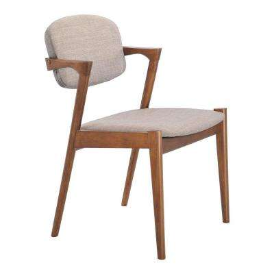 Brickell Dove Gray Dining Chair (Set of 2)
