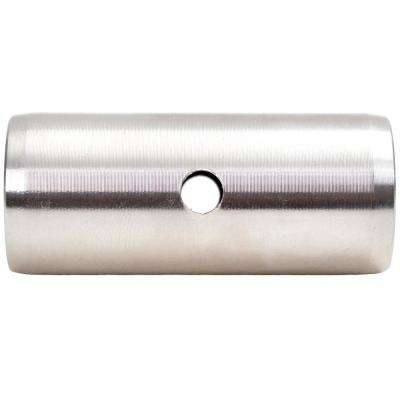 Stainless Steel Sliding Flat Rail Track Connector Barn Door Hardware