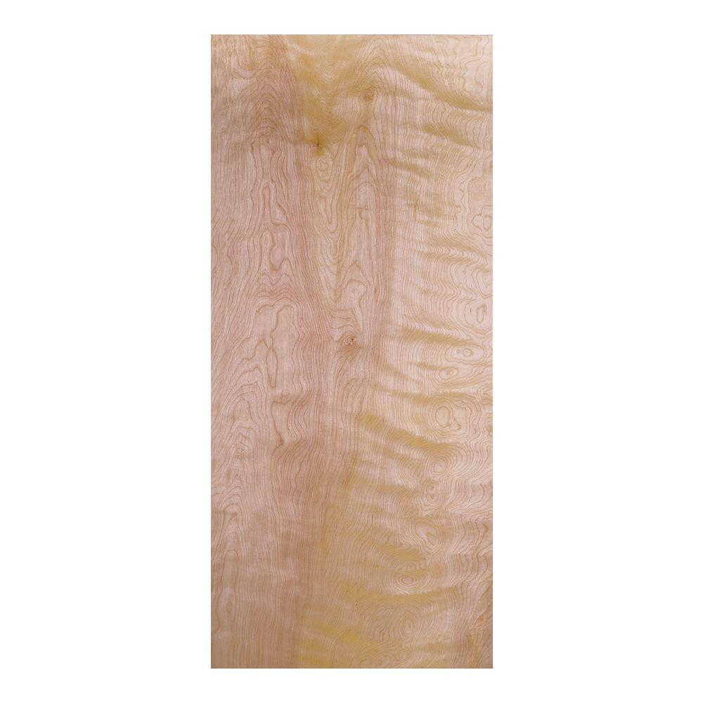 Masonite 24 in. x 80 in. Smooth Flush Hardwood Hollow Core Birch Veneer Composite Interior Door Slab