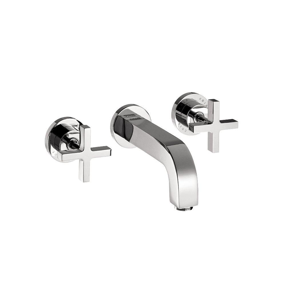 Hansgrohe citterio 8 in widespread 2 handle low arc - Hansgrohe shower handle ...