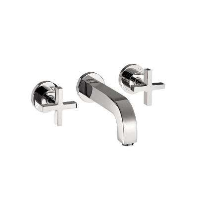 Citterio 8 in. Widespread 2-Handle Low-Arc Bathroom Faucet in Chrome