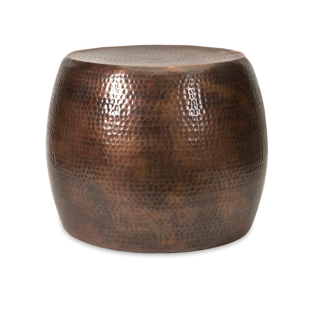 Nuria Copper Metal Table