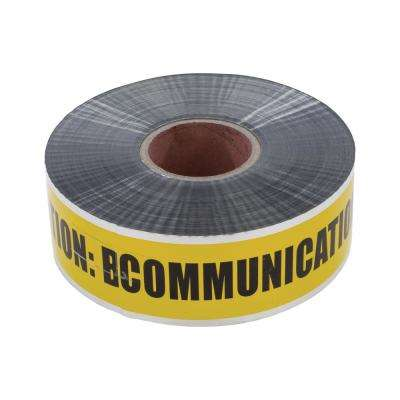 3 in. Detectable Underground Line Tape, Yellow