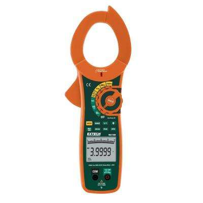 1500-Amp True RMS AC/DC Clamp Meter and NCV
