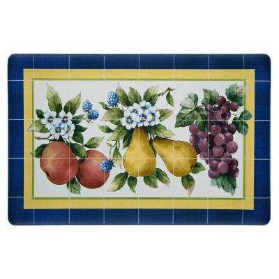 Fruity Tiles 18 in. x 30 in. Anti-Fatigue Mat