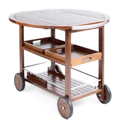 Tillary Outdoor Patio Bar Cart