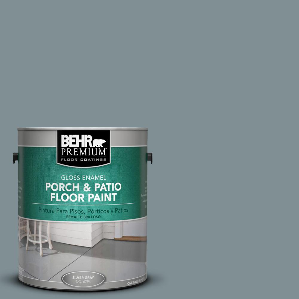 Behr Premium 1 Gal 740f 4 Dark Storm Cloud Gloss Porch And Patio