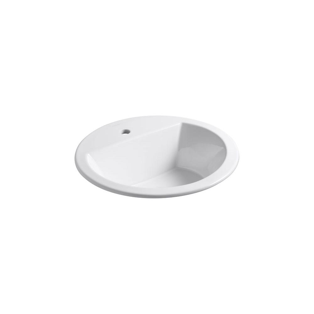 Kohler Bryant Drop In Bathroom Sink In White K 2714 1 0