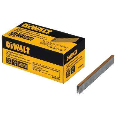 20-Gauge 9/16 in. L Galvanized Carpet Staples (5,000-Box)