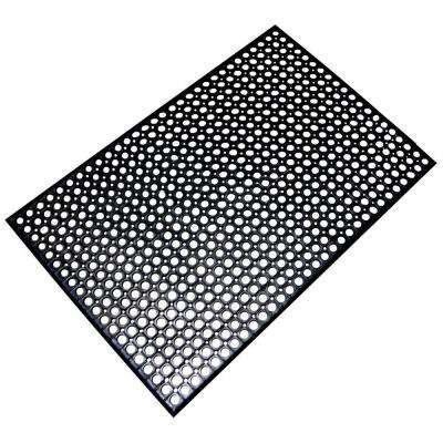 36 In. X 60 In. Anti Fatigue Rubber Flat Mat