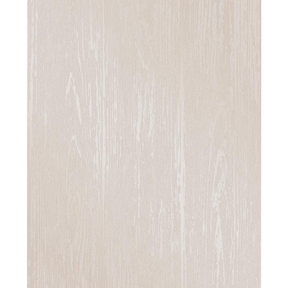Enchanted Cream Woodgrain Wallpaper Sample