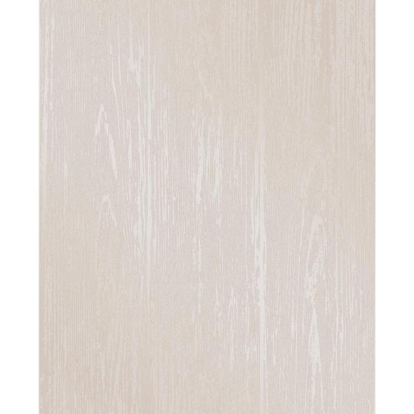 Decorline Enchanted Cream Woodgrain Wallpaper Sample 2735-23345SAM
