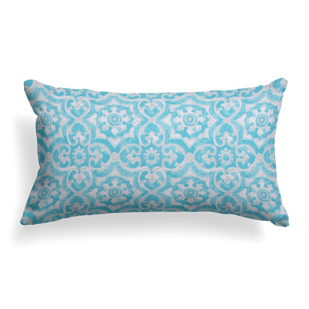 Madrid Outdoor Lumbar Throw Pillow