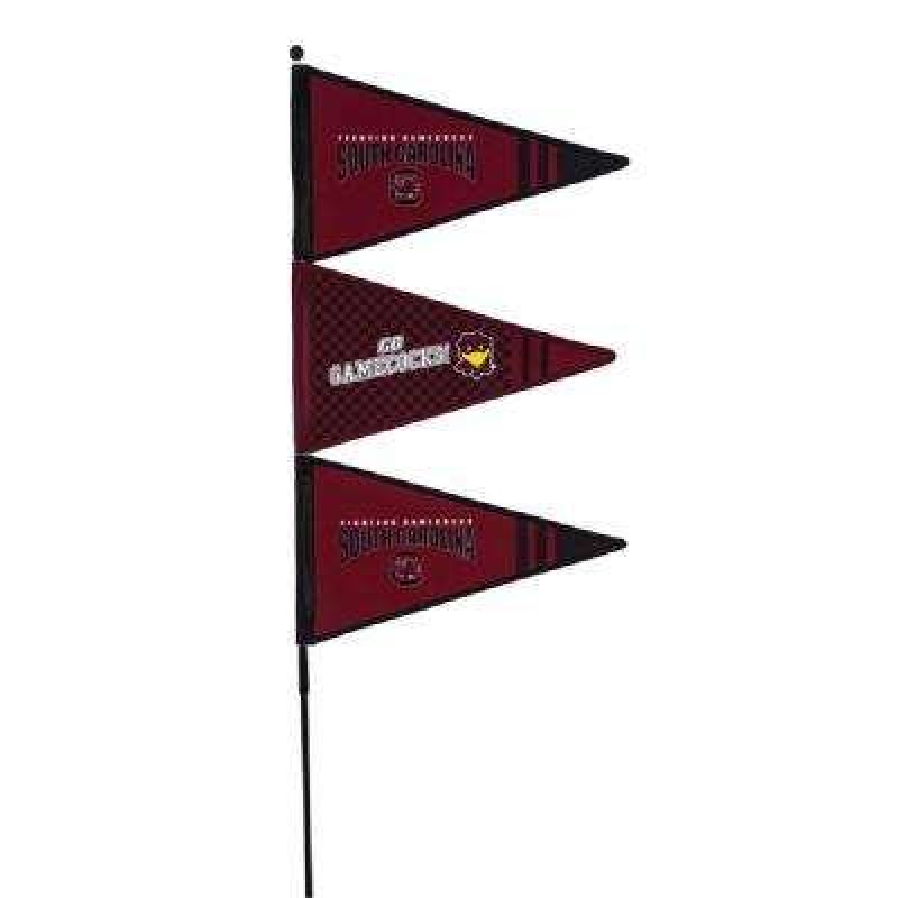 1-1/5 ft. x 4-3/5 ft. University of South Carolina Pennant Spinner