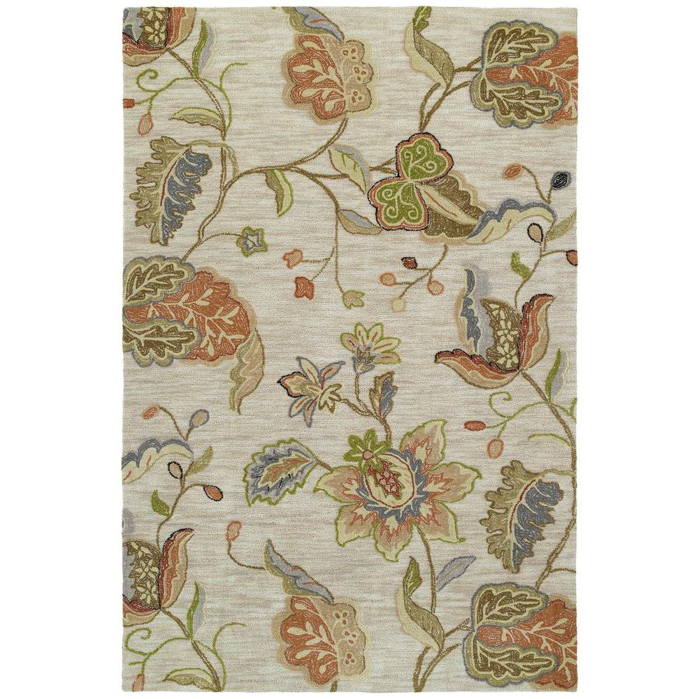 Kaleen Inspire Spectacle Rose 9 ft. x 12 ft. Area Rug