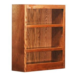 Internet 203120098 Concepts In Wood Midas Dry Oak Open Bookcase