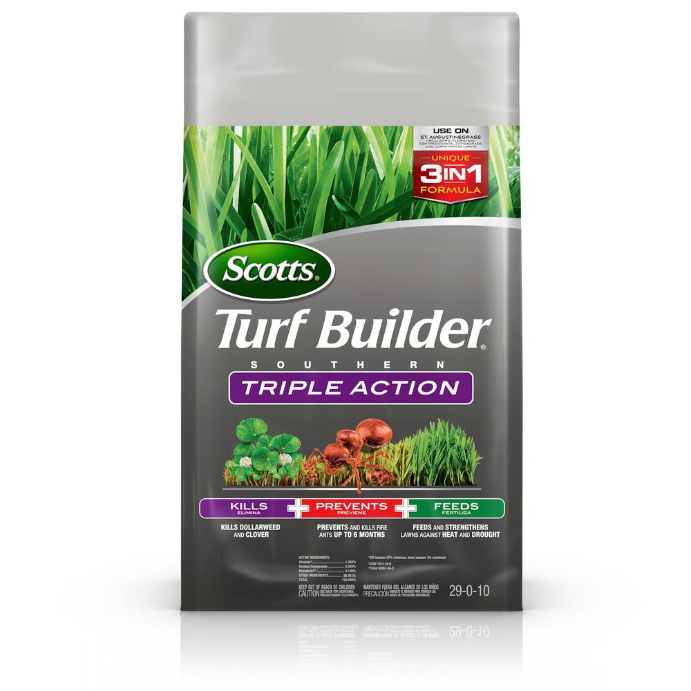 Scotts Turf Builder 13.42 lb. 4,000 sq. ft. Triple Action South Lawn Fertilizer