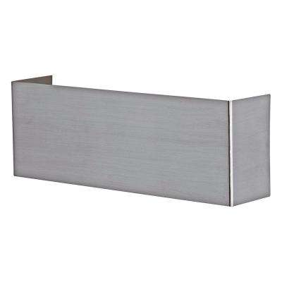 Nikita 1-Light Matte Nickel Wall/Ceiling Light