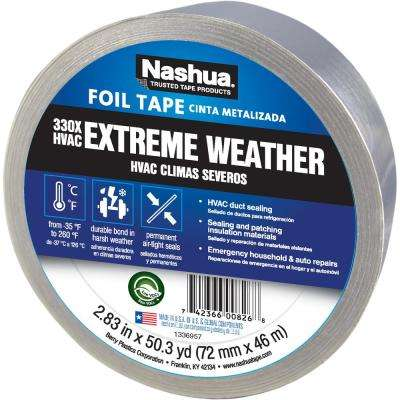 2.83 in. x 50 yd. 330X Extreme Weather HVAC Foil Tape
