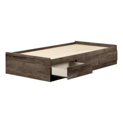 Asten Football Fall Oak Twin Bed