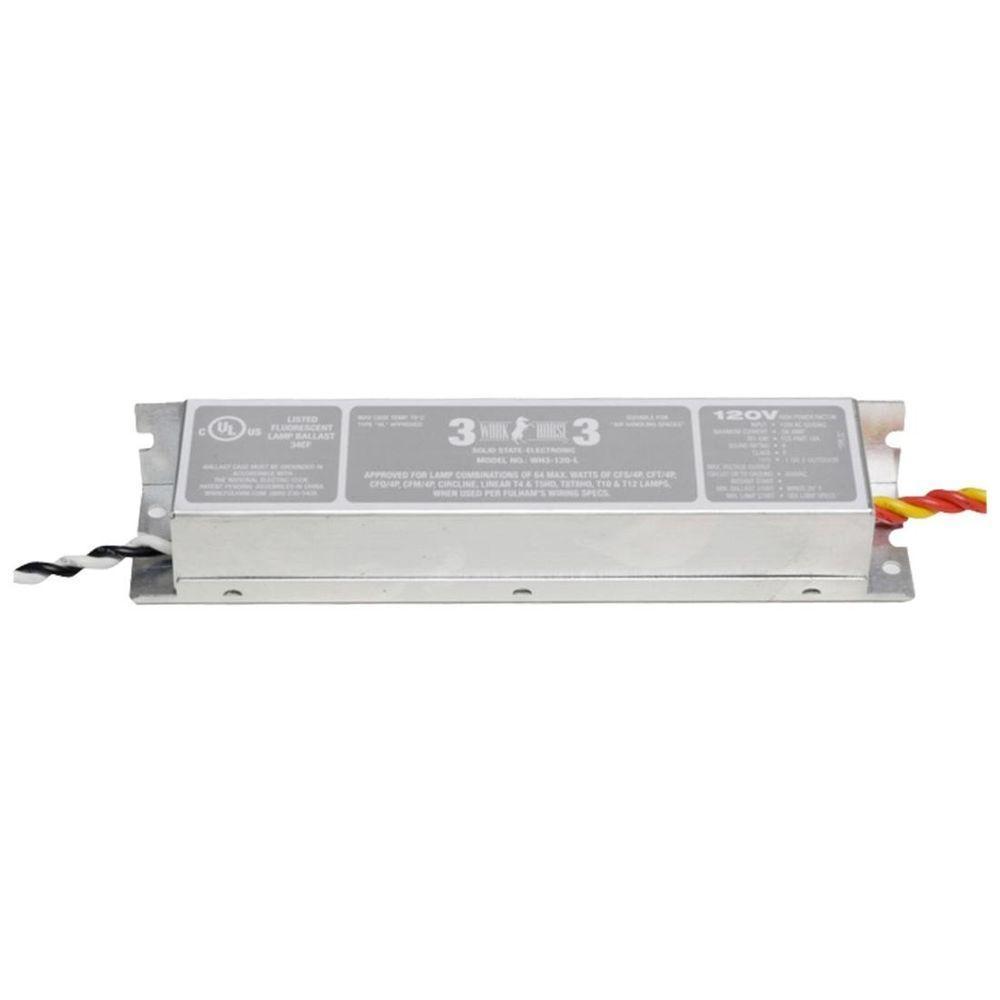 64-Watt 120-Volt Fluorescent Electronic Ballast