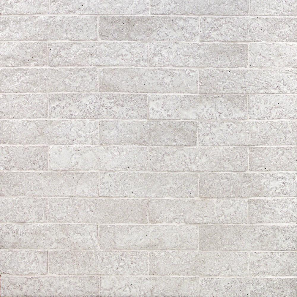 ivy hill tile weston temp white 2 in  x 8 in  14mm matte clay subway wall tile  40